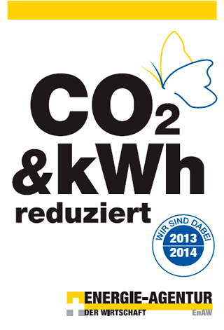 CO2 reduziert 2012 Energie Agentur