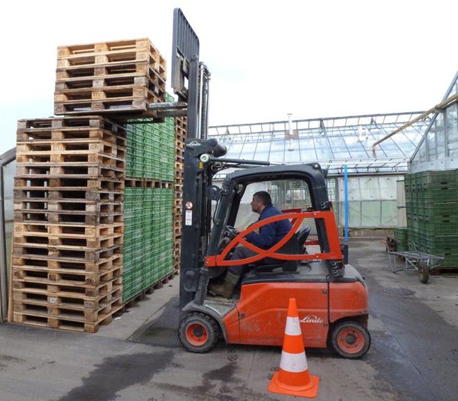 Beerstecher AG, Staplerkurs – ein Beitrag zur Sicherheit in unserem Betrieb